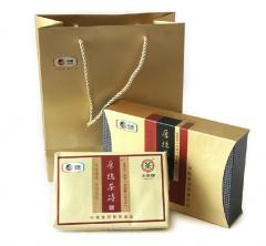 2012年中茶 厚德熟砖 熟茶 600克/砖
