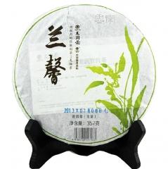 2013年龙润 兰馨 普洱生茶 357克/饼
