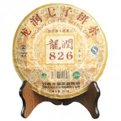 2007年龙润 黄金826 普洱熟茶 357克/饼 单片