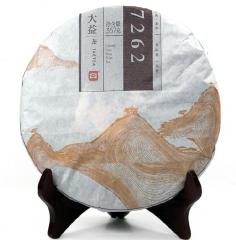 2014年大益 7262 1401批 熟茶 357克/饼