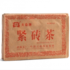 2005年大益 紧砖茶 生茶 250克/砖