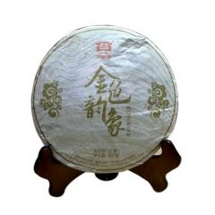 2013年大益 金色韵象 生茶 357克