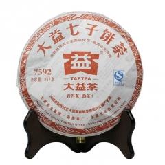 2011年大益 7592 101批 熟茶 357克