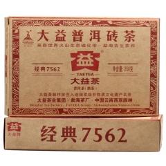 2010年大益 7562 002批 熟茶 250克