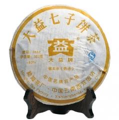 2008年大益 7632 801批 熟茶 357克