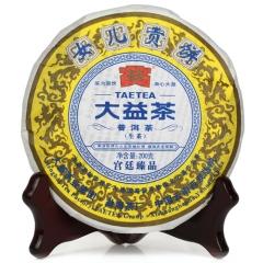 2011年大益 女儿贡青饼 生茶 200克