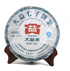 2011年大益 8582 102批 生茶 357克