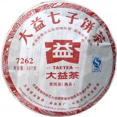 2011年大益 7262  熟茶 357克