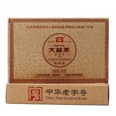 2012年大益 老茶头 201批 熟茶 250克