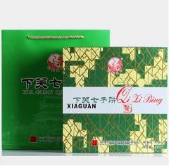 2014年下关 七子饼礼盒 熟茶 357克
