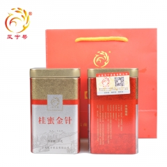 2014年凤宁号 云南凤庆滇红茶 桂蜜金针 特级红茶 75克