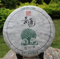 2012年福元昌 元系列 景迈古树纯料 生茶 357克/饼