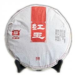 2014年大益 红玉 1401批 熟茶 357克