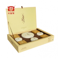 2013年大益七星印月 丹青荣享版礼盒 礼品茶 1057克/盒