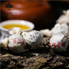 2015年书剑 布朗古树 逍遥丹 生茶 8克