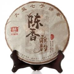 2015年大益 陈香雅韵 1501批 熟茶 357克