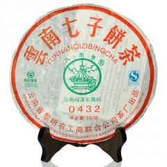 2007年八角亭 0432 生茶 357克/饼