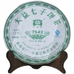 2007年大益 7542  生茶 357克/饼