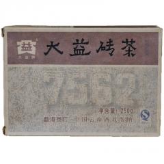 2009年大益 7562 902批 熟茶 250克/砖 单片