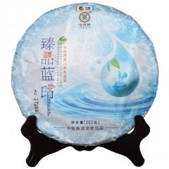 2015年中茶 臻品蓝印 生茶 357克/饼