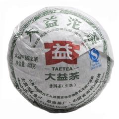 2012年大益 甲级青沱 201批 生茶 100克/沱