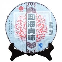 2015年 天弘勐海真味 古树茶发酵熟茶 357克/饼 单片