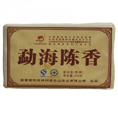 2008年龙园号 勐海陈香 枣香砖 熟茶 (买10送1) 1砖