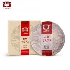 2012年大益 经典7572 201批 熟茶 150克/盒