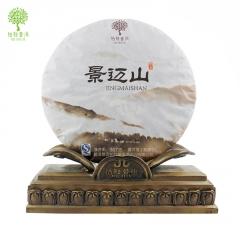 柏联普洱 景迈山 熟茶 357克/饼