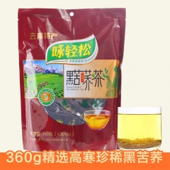 咏轻松 黑苦荞茶 360克/袋