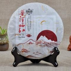 2015年茶马史诗 普洱晒红 388克/饼