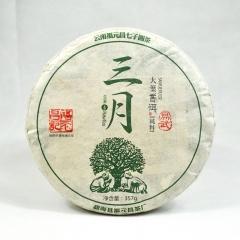 2016年福元昌 三月 易武(春茶) 生茶 357克/片
