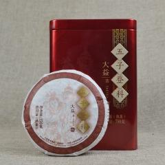 2012年大益 五子登科 201批 熟茶 150克