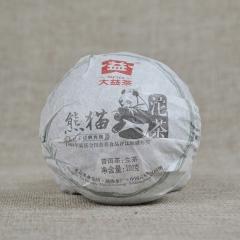 2012年大益 熊猫沱 生茶 100克 单沱
