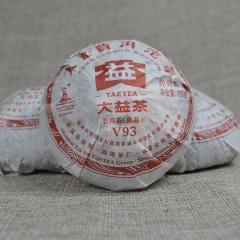 2010年大益 V93 熟茶 100克