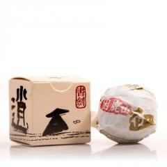 2016年书剑古茶 逍遥丹系列 困鹿山纯料茶 生茶 7克/沱