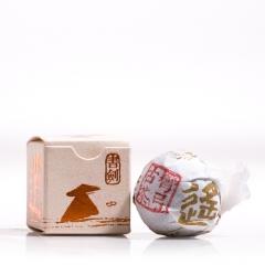 2016年书剑古茶 逍遥丹系列 易武弯弓纯料茶 生茶 7克/沱