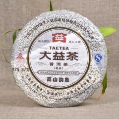 2010年大益 高山韵象 001批 熟茶 357克/饼