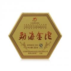 2014年龙园号 勐海金沱 熟茶 小沱 300克/罐