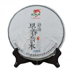 2015年龙园号 早春乔木 生茶 357克/饼