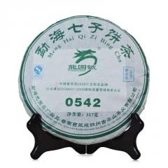 2007年龙园号 0542 生茶 357克/饼