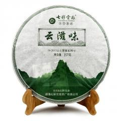 七彩云南 云滋味 生茶 357克/饼