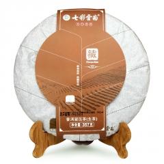 七彩云南 名门普洱藏系列 生茶 357克/饼
