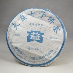 2006年大益  7542  生茶 357克/饼
