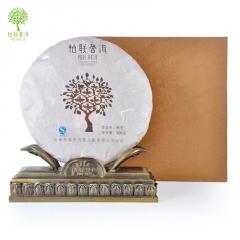 柏联普洱 景迈香礼盒 熟茶 500克/饼