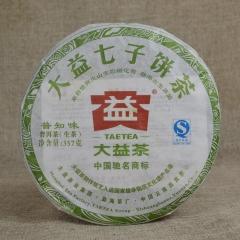 2012年大益 普知味 201批 生茶 357克/饼