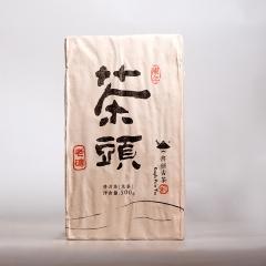 2015年书剑古茶 茶头老砖 熟茶 500克/砖