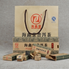 海鑫堂 小金砖 生茶 500克/盒