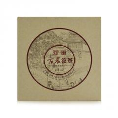 2012年彩农茶 古农沱茶 熟茶 500克/沱