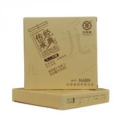 2016年中茶 经典传承九二方砖(92方砖) 生茶125克/盒